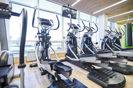 Elliptical Machines facing windows